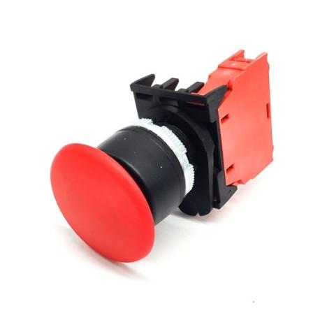 mushroom switch mounting ø 22mm 1NC EMERGENCY SHUT-DOWN 346490 345461