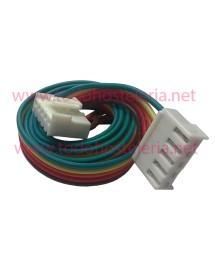 Cable manguera de 5 hilos con conectores Largo 90 cm