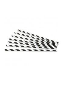 Straight cardboard straw (100 pcs)