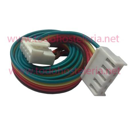 Cable manguera de 5 hilos con conectores Largo 60 cm