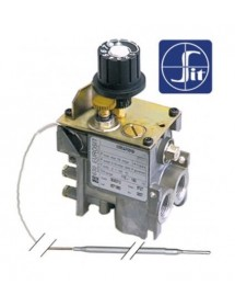 """Gas thermostat type series 630 Eurosit 110-190°C gas input 3/8"""" gas outlet 3/8"""""""