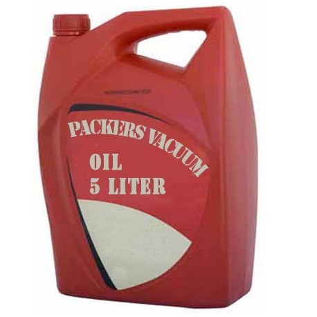 Packers Vacuum Oil 5 liter container