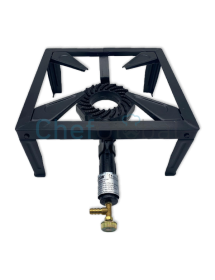 Cast iron gas burner