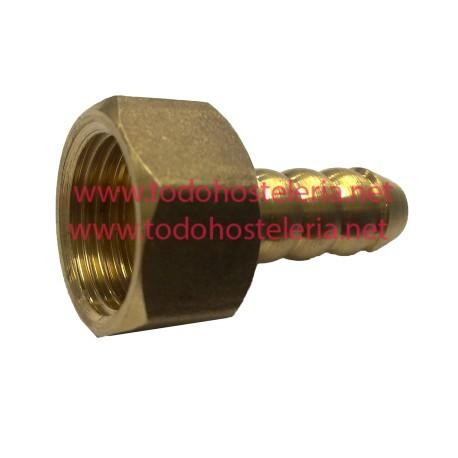 Racor 1/2 pulgada tubo entrada de gas