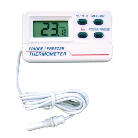 Term metro digital con sonda para frigor fico congelador - Temperatura freezer casa ...