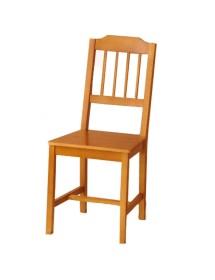 Sillas de madera de pino (Pack 4 sillas)