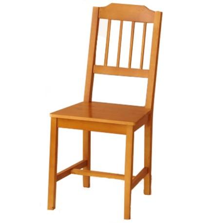 Sillas de madera de pino pack 4 sillas chef global - Sillas de pino ...