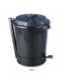 Waste bin with lid Goliat
