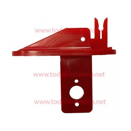 Pin red Porta scale Epelsa label