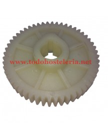 "Large Plastic Gear ""B"" orange juicer 52 teeth"