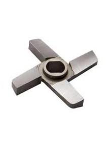 E114 DIN 114 Jet Toll Steel Unger Steel Blade 4 Blades Meat Grinder double cut