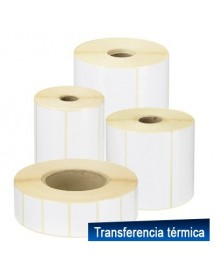 Thermal Label 70x30 Matt White 8 rolls 10,000 Tags