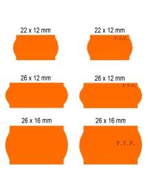 Rollos de etiquetas blanca Adhesivo 2