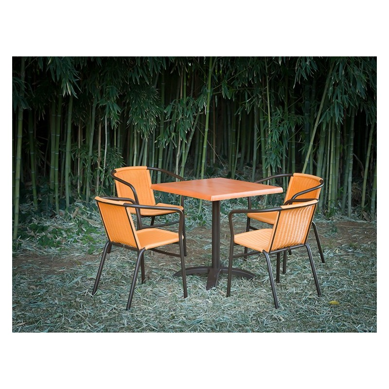 chaise en acier et en os chef global machines et mat riel de restauration et de l 39 alimentation. Black Bedroom Furniture Sets. Home Design Ideas