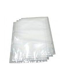 Smooth transparent vacuum bags 150 microns