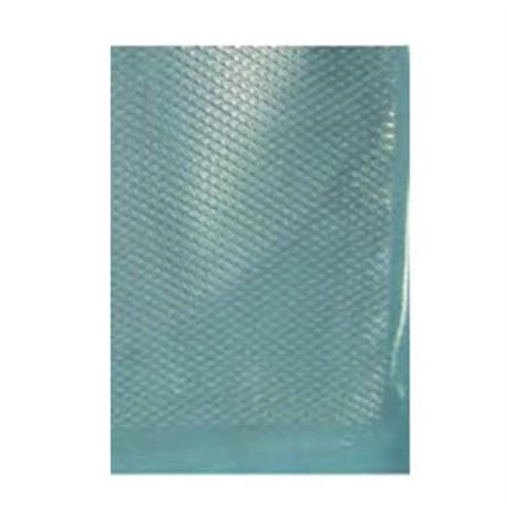 Embossed and transparent vacuum bags