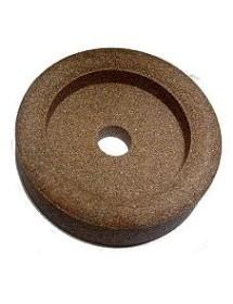 Piedra de Afilar 48x14x8mm Eje 8mm Grano Grueso Braher 10547