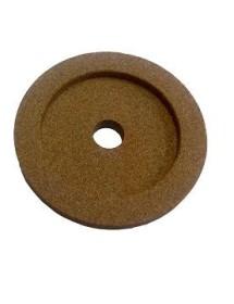 Piedra de Afilar 49x9x8mm Eje 6mm Grano fino Braher 10548