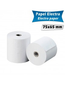 Paper rolls electra 75x65 mm