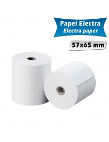 Paper rolls electra 57x65 mm