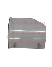 Protector del carro cortadora HS8 distancia agujeros 12cm 17x15cm
