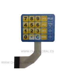 Flat keyboard Epelsa scale Baxtram MPI