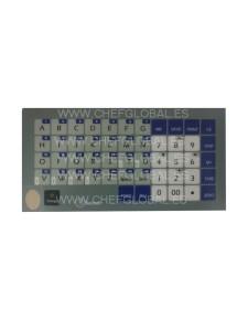 Keypad Flat Cover Scale Baxtram RTI