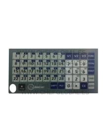 Keypad Flat Cover Scale Baxtram RTN