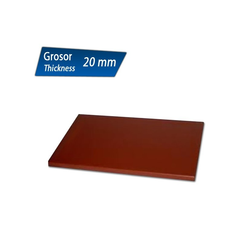 poly thyl ne planche d couper 20 mm d 39 paisseur chef global machines et mat riel de. Black Bedroom Furniture Sets. Home Design Ideas