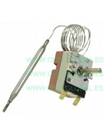 Thermostat t.max. 200°C 55.13032.450 68-200°C 1-pole probe ø 6mm probe length 72mm EGO 200 degree thermostat work