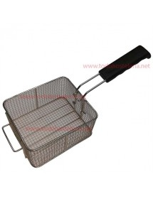 Gas fryer basket with handle GF 270x230x130mm