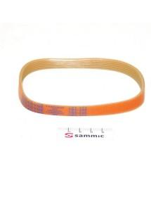 Strap Slicer Sammic GC-220 GC-250 poly-v belt profile TB2 L 330mm W 16mm grooves 8 Cookmax, Emmepi, Omas, Sammic, Sirman