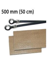 Repuesto Soldadora de Bolsas 500 mm (2 resistencias y 2 cinta antiadherente)
