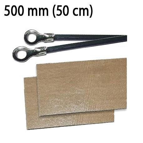 Repuesto Soldadora de Bolsas 500 mm (resistencia y cinta antiadherente)