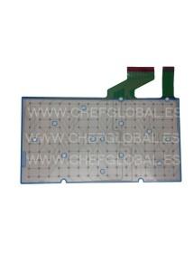 Membrana de teclado Registradora SAM4S Samsung ER-5200 ER-5100