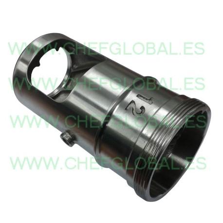 Steel Tube, meat mincer HM12 Enterprise 138mm