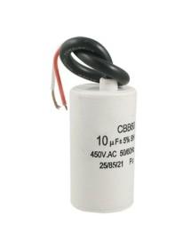 Condensador Capacidad 10 µF 450v 50/60hz