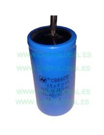 Capacitor 15µF 450v CBB60 50-60Hz TC12