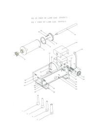 Piston and Rubber Stuffer Mainca TP-10 model