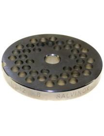Placa Acero de 12 agujero de 6mm