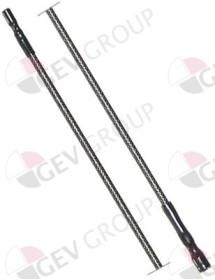 Cable de encendido longitud del cable 900mm empalme ø2,4mm/ø4mm