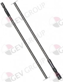 Ignition cable cable length 900mm connection ø2,4mm/ø4mm