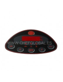 Cover Pushbutton Dexal stainless DXN-60 Viewer Epelsa