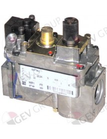 "gas valve series 820 230V 50Hz gas input ½"" gas outlet ½"" thermocouple connection M9x1"