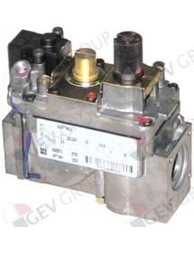 """válvula de gas serie 820 230V 50Hz entrada gas ½"""" salida gas ½"""" conexión termoelemento M9x1"""