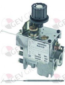 gas thermostat type series 630 Eurosit t.max. 340°C 100-340°C gas input 3/8""