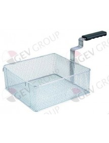 fryer basket L1 310mm W1 300mm H1 120mm chrome-plated steel