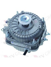 fan motor 5W 230V 50-60Hz L1 44mm L2 48mm L3 79mm W 84mm cable length 500mm 1300rpm