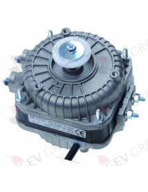 fan motor 10W 230V 50-60Hz L1 44mm L2 54mm L3 85mm W 84mm cable length 500mm 1300rpm
