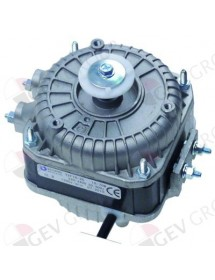 fan motor 16W 230V 50-60Hz L1 45mm L2 61mm L3 92mm W 84mm cable length 500mm 1300rpm
